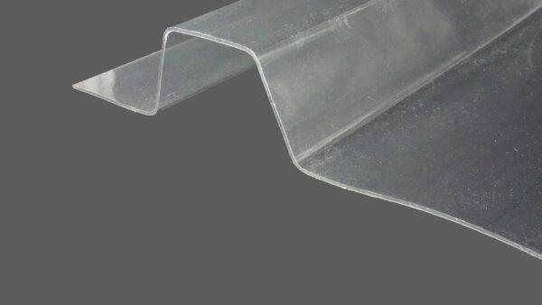 RENOLIT ONDEX HR® Industrieplatten aus PVC Trapez 207 35 FI35 farblos glatt 1,4 mm
