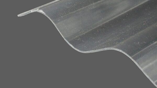 RENOLIT ONDEX HR® Profilplatten aus PVC Sinus 76 18 farblos glatt 1,2 mm