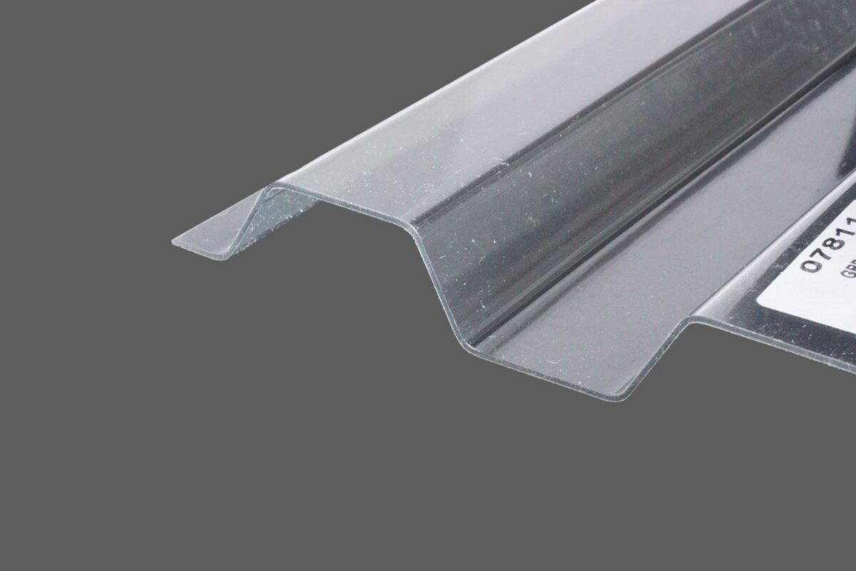 RENOLIT ONDEX HR® Profilplatten aus PVC Trapez 70 18 farblos glatt 1,2 mm