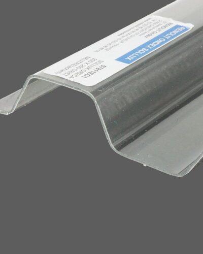 RENOLIT ONDEX SOLLUX® Profilplatten aus PVC Trapez 70 18 farblos glatt 1,1 mm