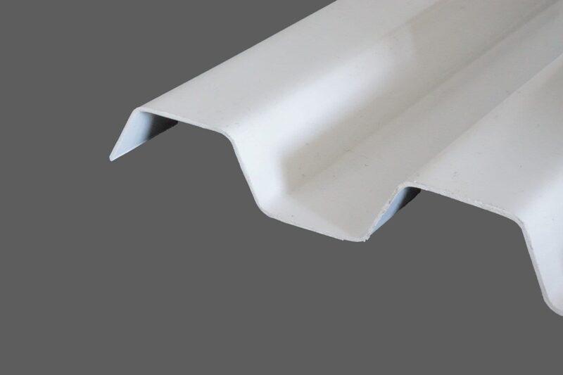 RENOLIT ONDEX SOLLUX® Profilplatten aus PVC Trapez 70 18 weiß glatt 1,1 mm