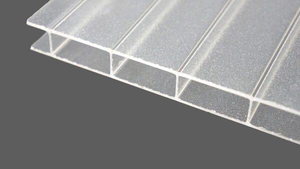 Acrylglas Doppelstegplatten 16 mm C-Struktur HIGHLUX® 1632 (Plexiglas® Rohmasse)