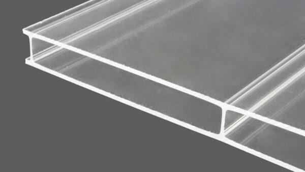 Acrylglas Doppelstegplatten 16 mm glasklar HIGHLUX® VERTICA 1696 (Plexiglas® Rohmasse)