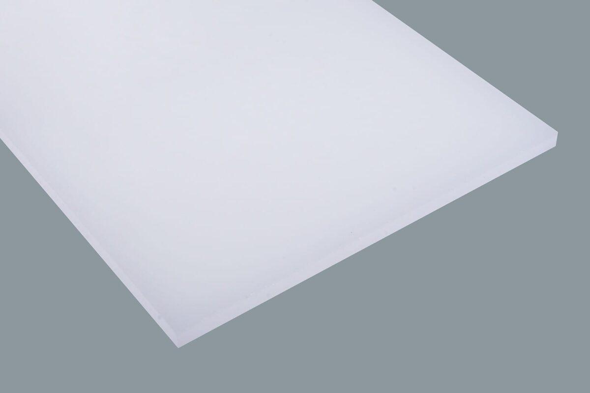 Acrylglas Deglas Satin einseitig weiß