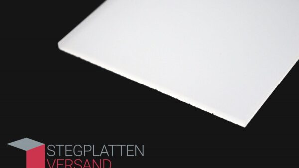 Acrylglas GS beidseitig satiniert | weiß