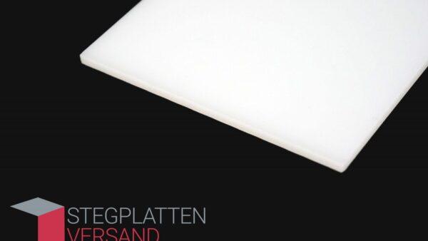 Acrylglas GS einseitig satiniert | weiß