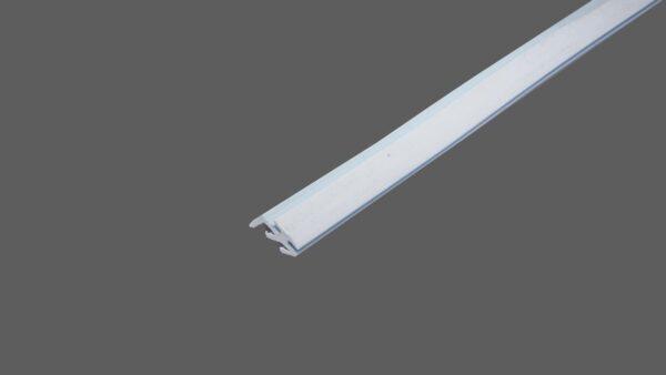Lippendichtung hellgrau zum Einziehen in Profilsystemen für Stegplatten Kunststoffplatten 2