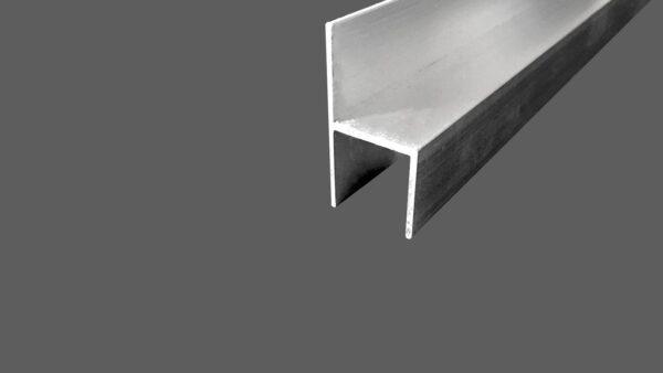Stuhl-Profil aus Aluminum für 16 mm Platten preßblank