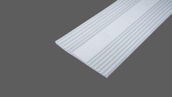 Auflagegummi hellgrau 60mm breit Glas – Flachbandprofil