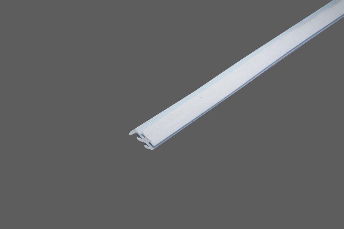 Lippendichtung hellgrau zum Einziehen in Universalprofil 60mm für Drahtglas 2