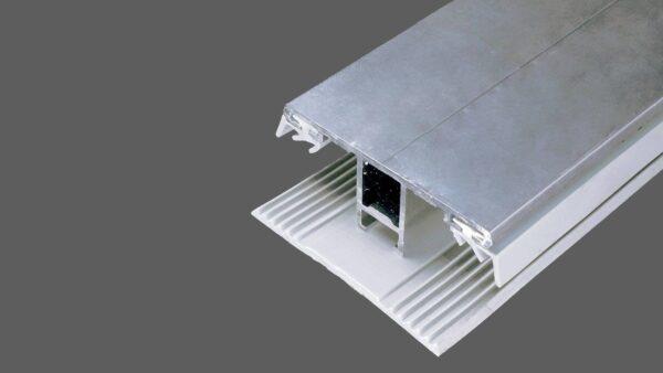 Favorit Randstegsystem Randprofil 60mm Alu-Gummi für 8mm Stegplatten DL45