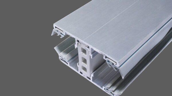 Mittelthermosystem-60mm-Alu-Alu-für-32-mm-Stegplatten-inkl.-Thermoprofil