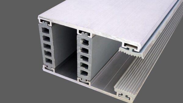 Randkomplettsystem 80mm Alu-Alu für 32mm Isoglas inkl. Rippendichtungen und Distanzprofile