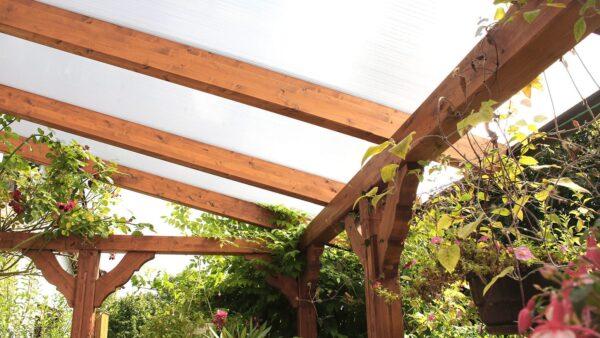 Terrassenüberdachung-Doppelstegplatten-16mm-weiss-3-Fach-Struktur