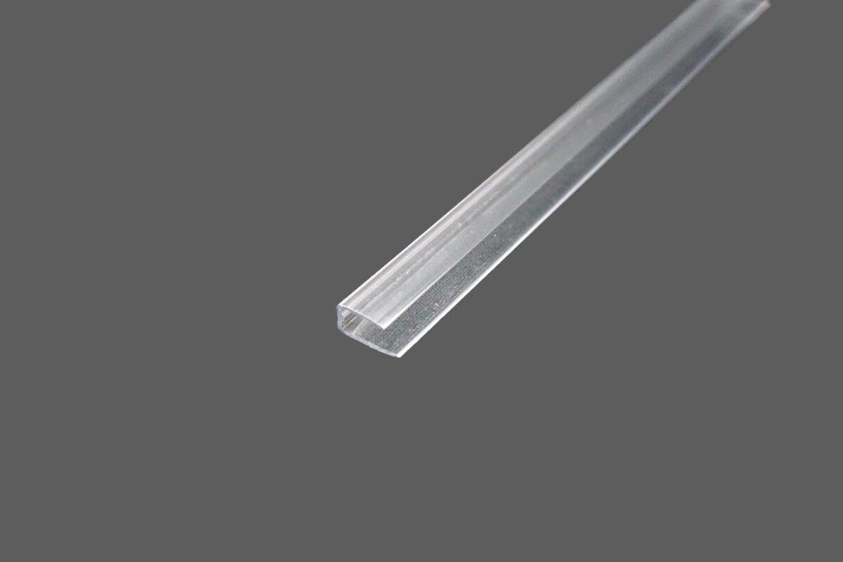 U-Abschlussprofil universal aus Polycarbonat für 4 mm Stegplatten