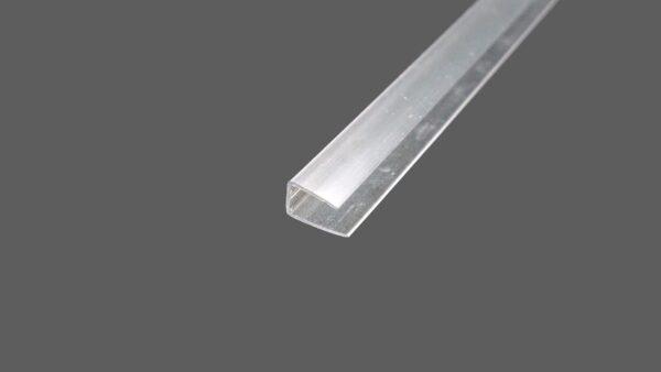 U-Abschlussprofil universal aus Polycarbonat für 8 mm Stegplatten