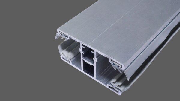 Mittelkomplettsystem-Mittelsprosse-60mm-Alu-Alu-für-10-mm-Stegplatten-inkl.-Lippendichtungen