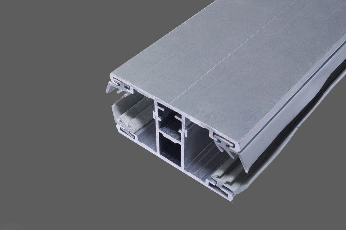 Mittelkomplettsystem-Mittelsprosse-60mm-Alu-Alu-für-8-mm-Stegplatten-inkl.-Lippendichtungen