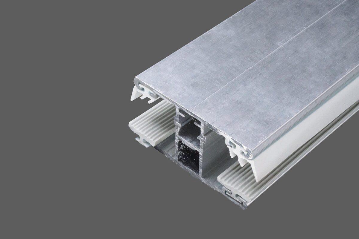 Mittelkomplettsystem-60mm-Alu-Alu-für-8-mm-Glas-inkl.-Rippen-und-Lippendichtungen