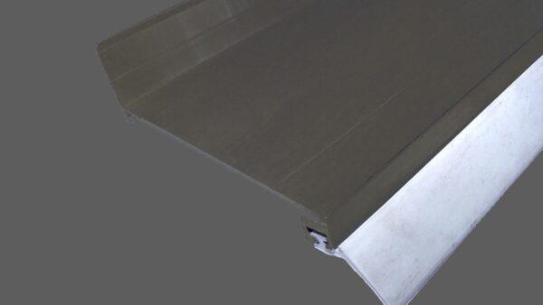 Wandanschlußprofil-aus-Aluminium-braun-mit-langer-Dichtlippe