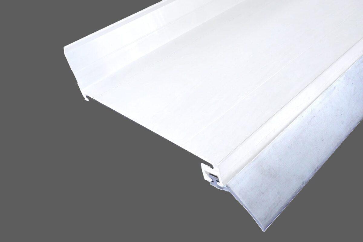 Wandanschlußprofil-aus-Aluminium-weiß-mit-langer-Dichtlippe