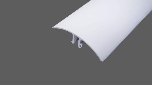 Oberprofil PVC weiß Alu-PVC