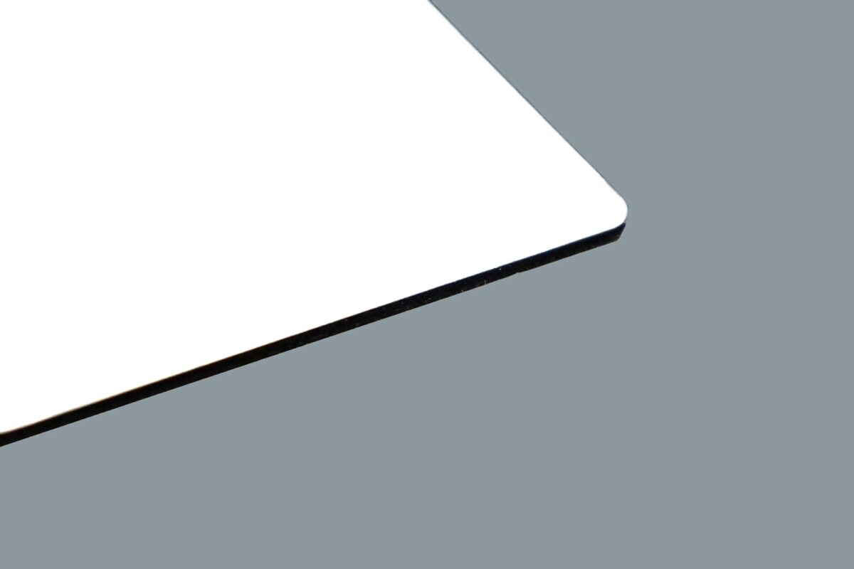 Aluverbundplatte Weiß