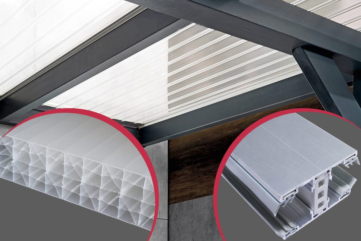 Bausatz für Wintergärten Dachhaut, Dacheindeckung