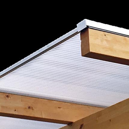 Terrassenüberdachung Mit Stegplatten Und Doppelstegplatten