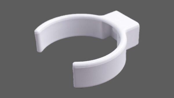 Fallrohrschelle Clip Rohrschelle Pvc Weiß