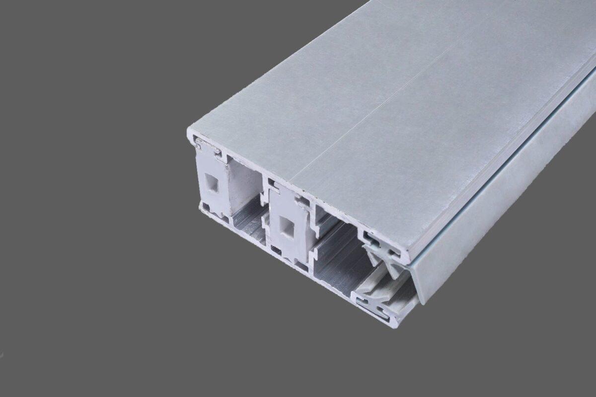 Randthermosystem 60mm Alu Alu Für 6 8 Mm Stegplatten Inkl