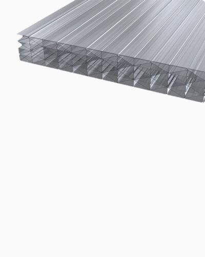 Makrolon®polycarbonat Stegplatten 25 Mm Klar Makrolon® Uv 5m Struktur