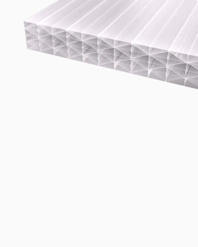 Makrolon®polycarbonat Stegplatten 25 Mm Weiß Opal Makrolon® Uv 5m Struktur Iq Relax