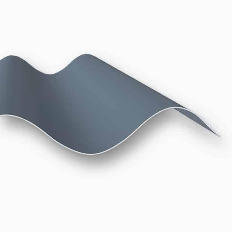 Produktbild polyesterplatten 2 mm anthrazit sinus 177 51 p6 duraclad® - gfk s&v stegplattenversand gmbh