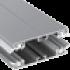 widget durchschraubprofil alu alu 60mm breit blindsparre – zum durchschrauben durch platte bei Überhang & verbinden stegplattenversand gmbh